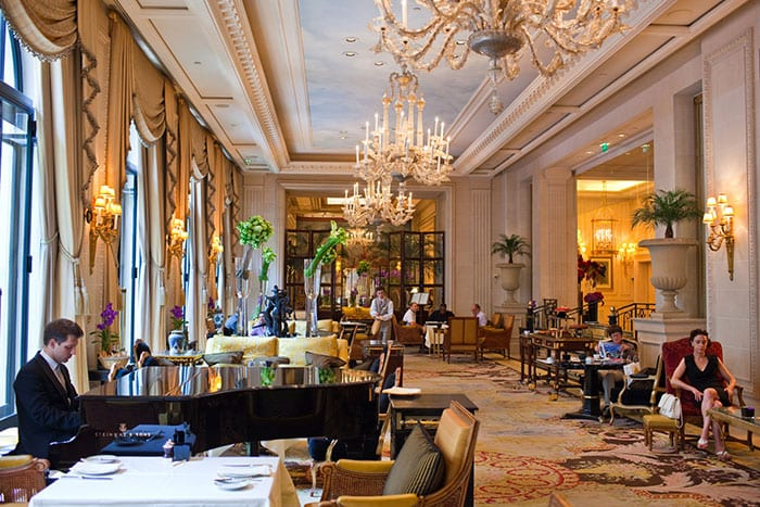 Le Cinq, the Hotel George V dining room